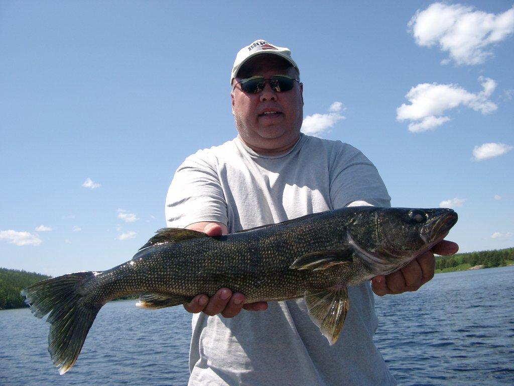 Ontario canada walleye fishing walsten outposts for Walleye fishing in canada