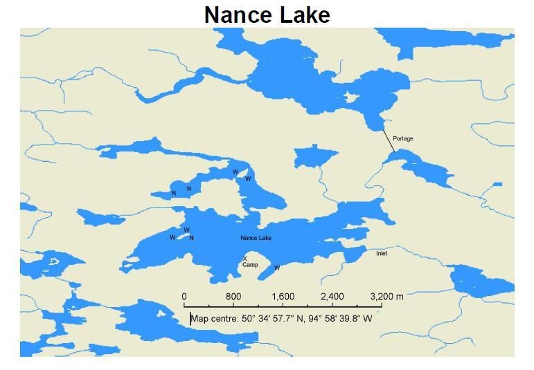 Nance Lake Walsten Outposts